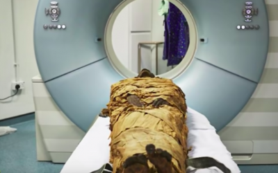 """CT Scan Helps Scientists Hear Mummy's """"Voice"""" in England"""